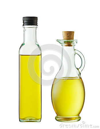 Two bottles of oil
