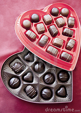 Two boxes of valentine s day chocolates