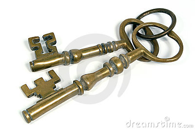 Two Brass Keys