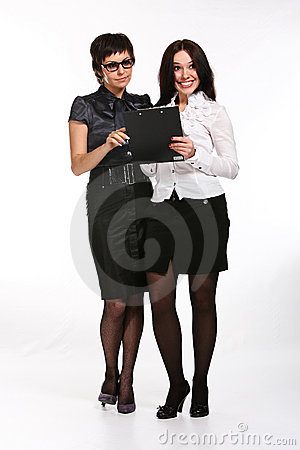 Two business woman