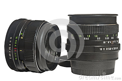 Two camera lens