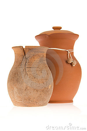 Free Two Ceramic Jugs Stock Image - 20712161