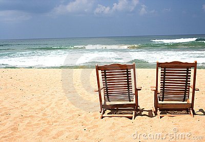 Two Chair at the beach