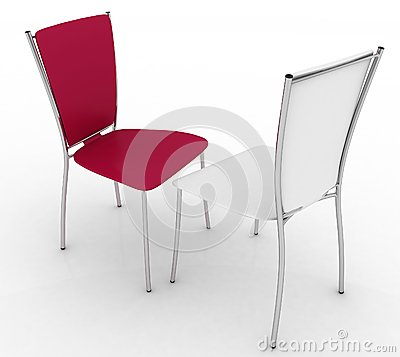 Free Two Chairs Royalty Free Stock Image - 41453906
