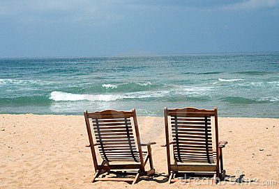 Two Chairs at the beach