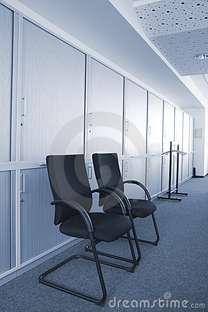 Free Two Chairs In Office Stock Photo - 17689040