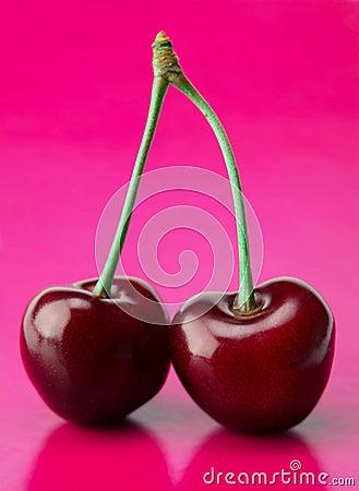 Two cherry