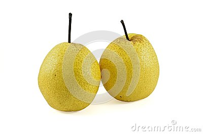 Two chinese pear