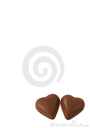 Two chocolate