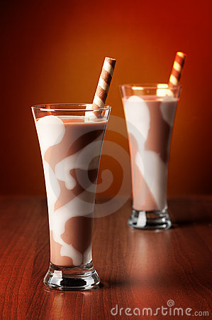 Two Chocolate Drinks
