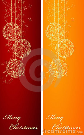 Two Christmas backgrounds