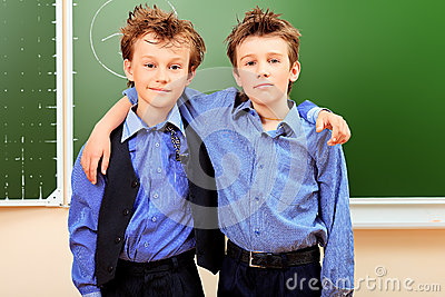 Two classmates