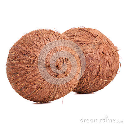 Two coconuts