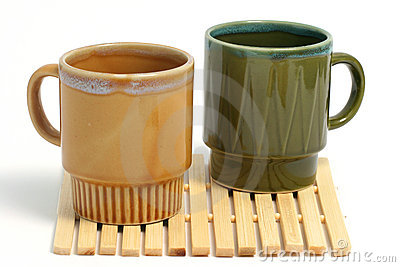 Two coffee cups