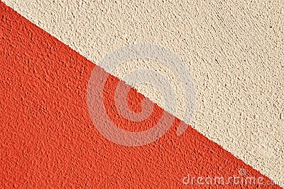 Two colored wall