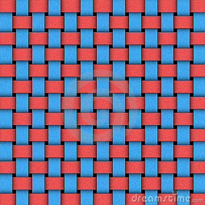Two colors weave pattern texture
