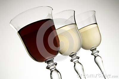 Two Colors of Wine