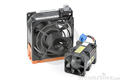Two Cooling Fans