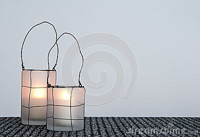 Two cozy lanterns