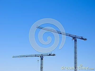 Two crane
