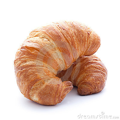 Free Two Croissants Stock Photography - 19402092
