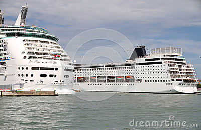 Cruise Ships in Venice Port