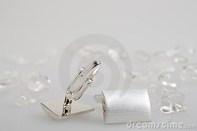 Two cufflinks
