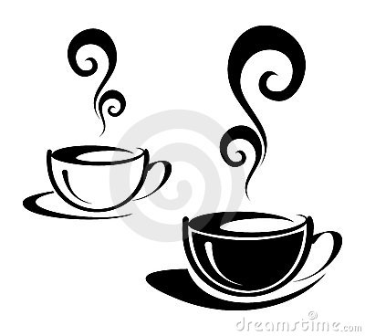 Free Two Cups Of Coffee Royalty Free Stock Photography - 11233557