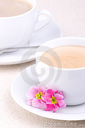 Free Two Cups Of Coffee Stock Photos - 2106243
