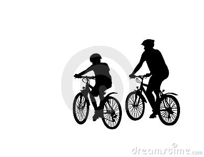 Two cyclist