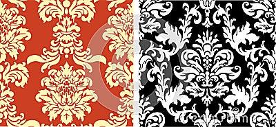 Two Damask Patterns