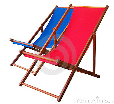 Two Deckchairs