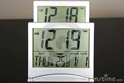Two Digital clocks
