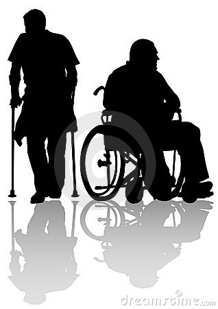 Two disableds