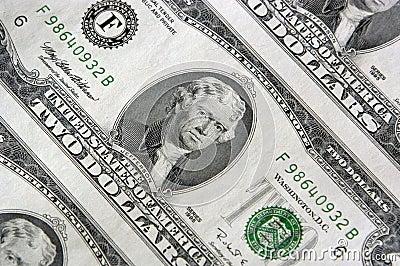 Two Dollar Bill Sheet