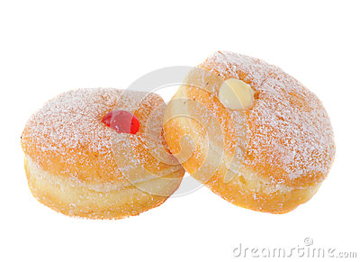 Two doughnuts