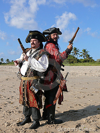 Free Two Dueling Pirates Stock Photos - 19403563