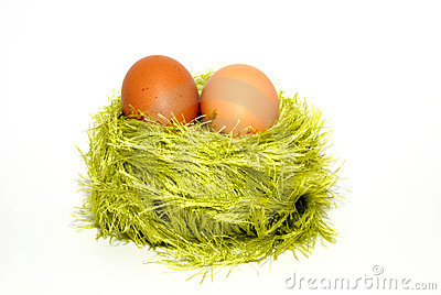 Two eggs in a jack