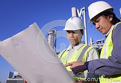 Two engineer