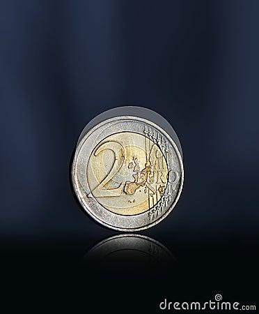 Free Two Euro Coin Stock Photo - 26751190