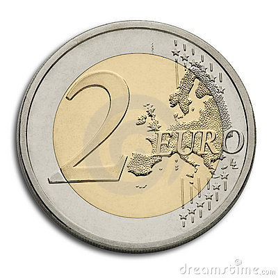 Two Euro Coin - European Union Currency