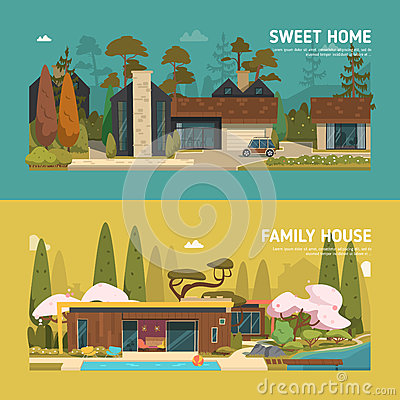 Free Two Family Houses Stock Photography - 66806232