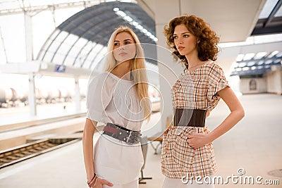 Two fashionable girls
