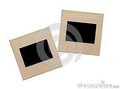 Two film slides
