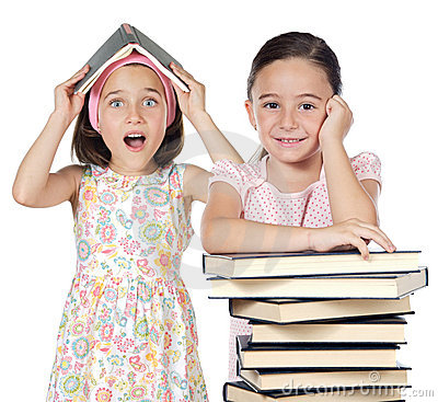 Free Two Friends Students Stock Images - 3368454