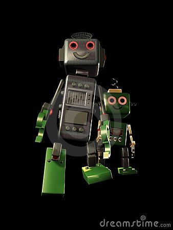 Two friendship robots