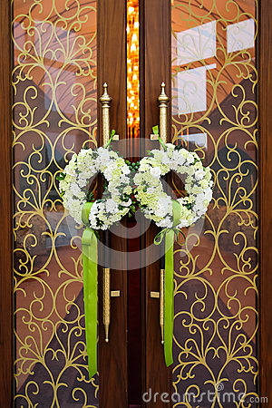 Wedding door
