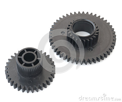 Two Gear Wheels. Royalty Free Stock Image - Image: 26584556