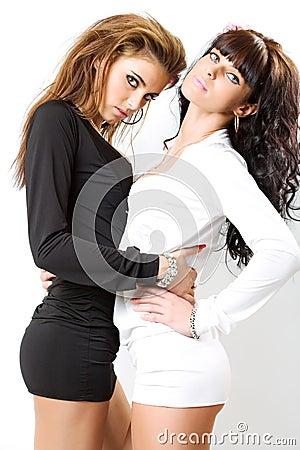 Free Two Girls Royalty Free Stock Photo - 9049715