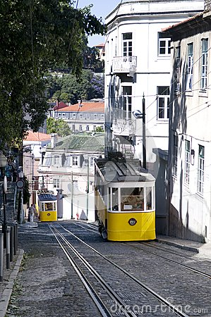 The two Glorias Trams